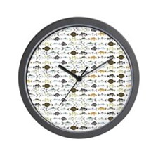Florida Inshore Fishes Wall Clock