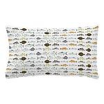 Florida Inshore Fishes Pillow Case