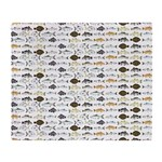 Florida Inshore Fishes Throw Blanket