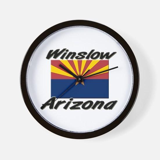Winslow Arizona Wall Clock