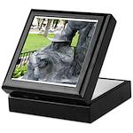 Prescott Cowboy Statue Keepsake Box