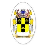 Semchishchev Sticker (Oval)