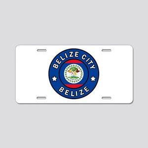 Belize City Aluminum License Plate