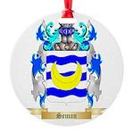 Seman Round Ornament