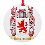 Selvi Round Ornament