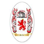 Selvi Sticker (Oval 50 pk)