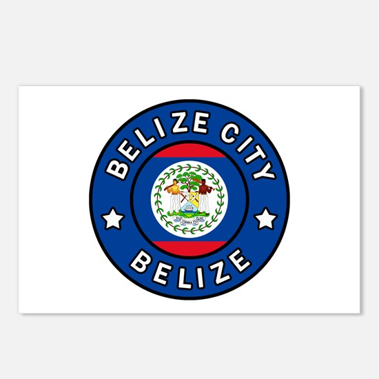 Belize City Postcards (Package of 8)