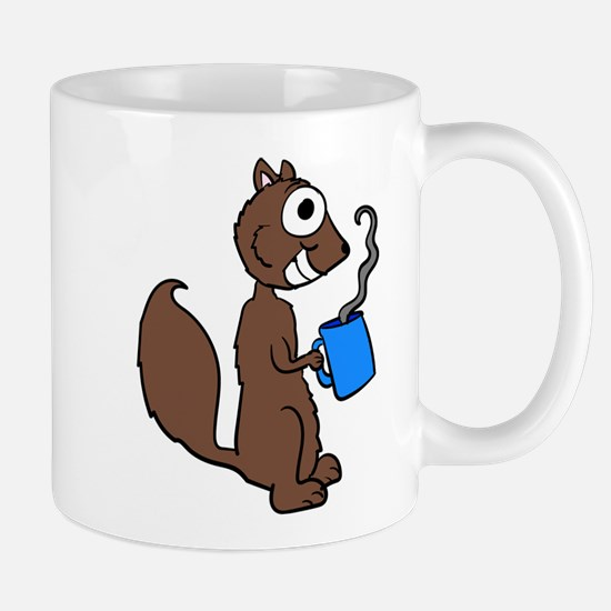 Coffee Squirrel Mugs