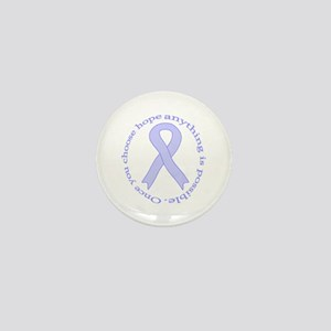 Periwinkle Hope Mini Button