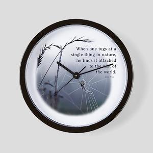Web of Life Wall Clock