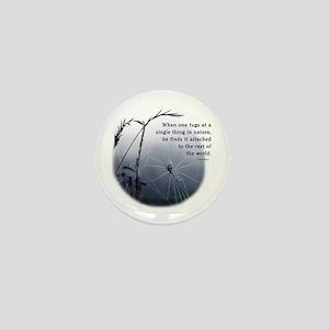Web of Life Mini Button