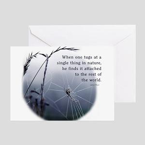 Web of Life Greeting Card