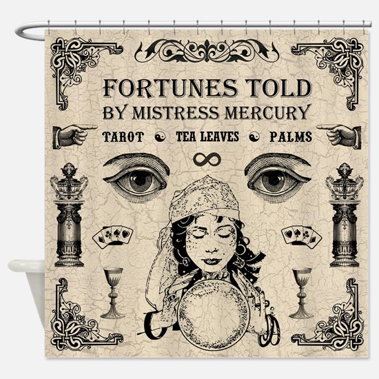 MISTRESS MERCURY Shower Curtain