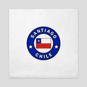 Santiago Chile Queen Duvet