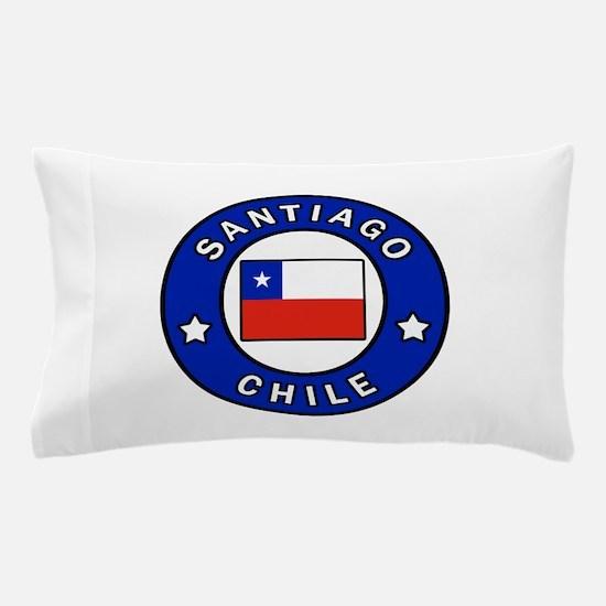 Santiago Chile Pillow Case
