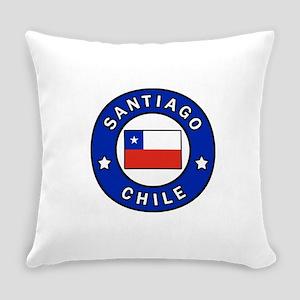 Santiago Chile Everyday Pillow