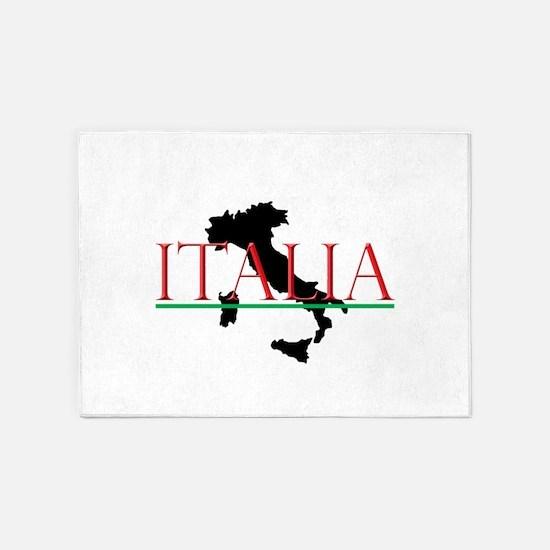 Italia: Italian Boot 5'x7'Area Rug