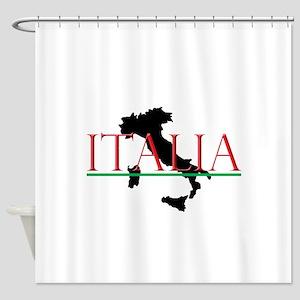 Italia: Italian Boot Shower Curtain