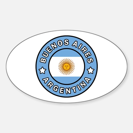 Funny Argentino Sticker (Oval)