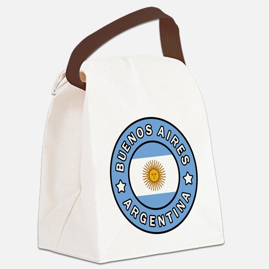 Unique Juan Canvas Lunch Bag