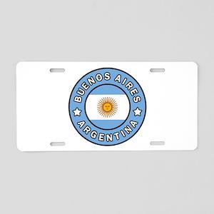 Buenos Aires Argentina Aluminum License Plate