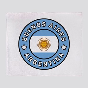 Buenos Aires Argentina Throw Blanket