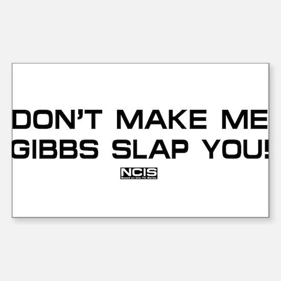 NCIS: Gibbs Slap Decal