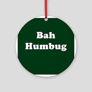 Bah Humbug Ornament (Round)