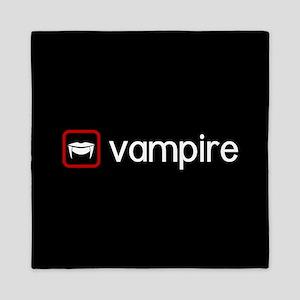 Vampire (Blood Red) Queen Duvet