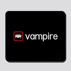 Vampire (Blood Red) Mousepad