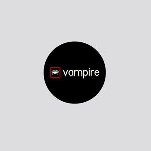 Vampire (Blood Red) Mini Button