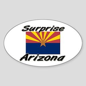 Surprise Arizona Oval Sticker