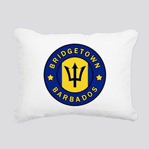 Bridgetown Barbados Rectangular Canvas Pillow