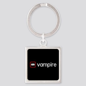 Vampire (Blood Red) Square Keychain