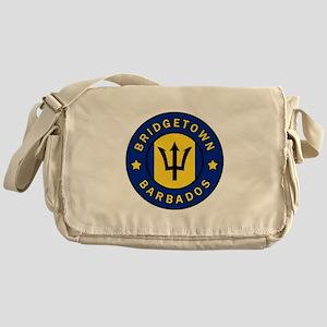 Bridgetown Barbados Messenger Bag