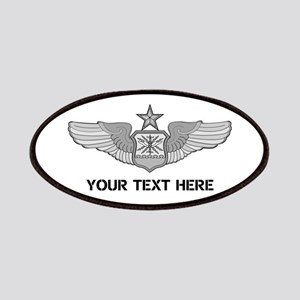 PERSONALIZED SENIOR NAVIGATOR WINGS Patch