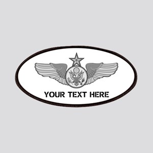 PERSONALIZED SENIOR ENLISTED AIRCREW WINGS Patch