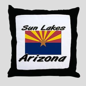 Sun Lakes Arizona Throw Pillow