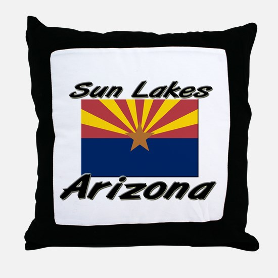 Sun Lakes Arizona Throw Pillow