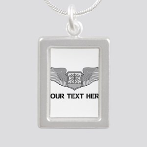 PERSONALIZED NAVIGATOR W Silver Portrait Necklace