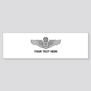 PERSONALIZED MASTER NAVIGATOR WIN Sticker (Bumper)