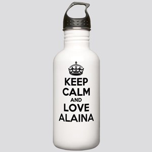 Keep Calm and Love ALA Stainless Water Bottle 1.0L