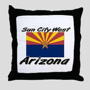 Sun City West Arizona Throw Pillow