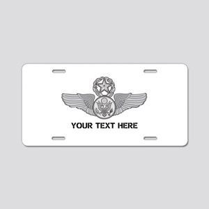 PERSONALIZED MASTER ENLISTE Aluminum License Plate