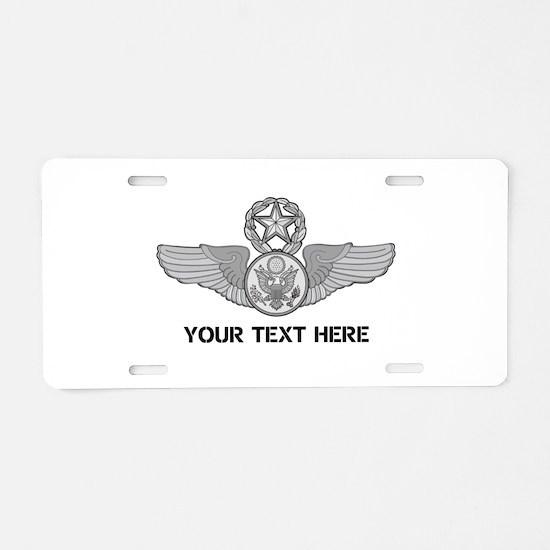 PERSONALIZED MASTER ENLISTE Aluminum License Plate
