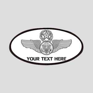 PERSONALIZED MASTER ENLISTED AIRCREW WINGS Patch