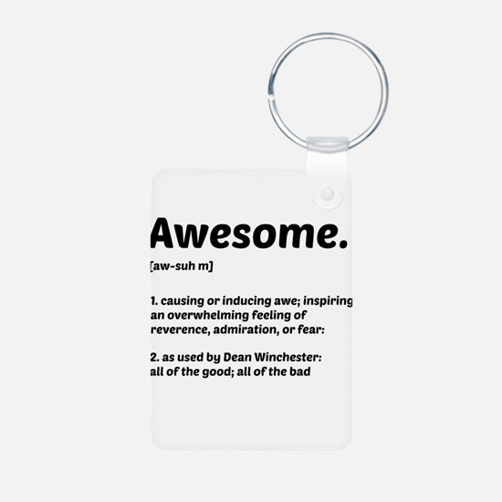 Supernatural: Vital information- Awesome Keychains