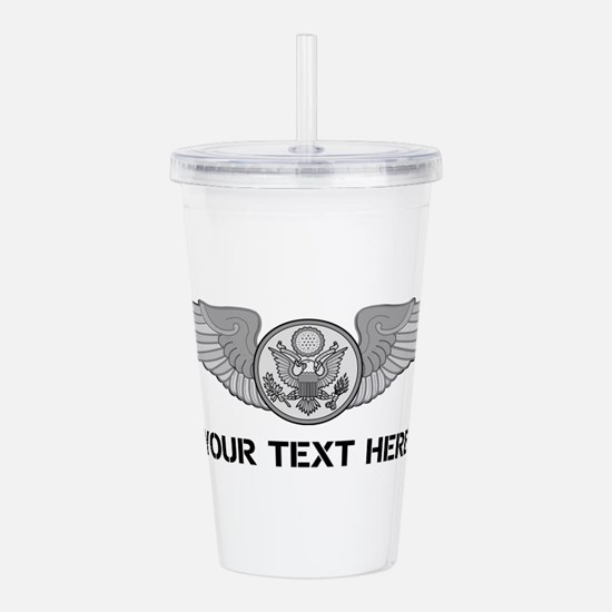 PERSONALIZED ENLISTED Acrylic Double-wall Tumbler
