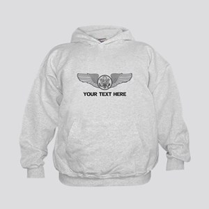PERSONALIZED ENLISTED AIRCREW WINGS Kids Hoodie