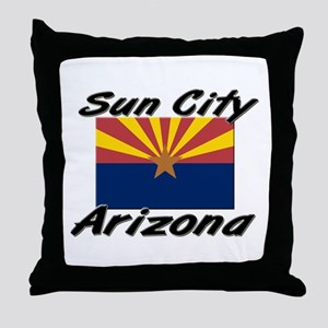 Sun City Arizona Throw Pillow